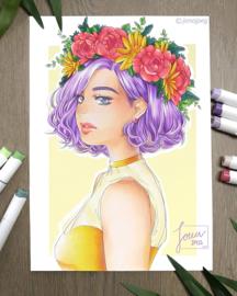 Ohuhu Alcohol based Art markers Brush & chisel - set van 168 + Blender + etui