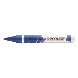 Talens Ecoline Brush Pen - 506 ultramarijn donker