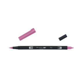 Tombow ABT Dual Brush Pen 703 pink rose