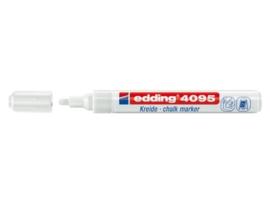 Edding 4095 Raam/krijtstift - rond 2-3 mm - Wit