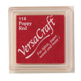 VersaCraft inktkussen small - Poppy red