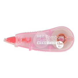 Tombow Correctieroller - MONO CCE4 transparent pink