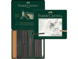 Faber Castell houtskoolset Pitt Monochrome - set van 24