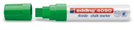 Edding 4090 Raam/krijtstift XXL - Beitelvormige punt 4-15 mm - Donkergroen