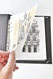 MyArtBook Kunstenaarsmap A5 - Zwart