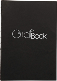 Clairefontaine Graf'Book 360° - 14,8 x 21 cm - 100 vellen - 100 gram - wit papier