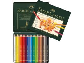 kleurpotlood Faber Castell Polychromos 3,8mm kerndikte - set van 24