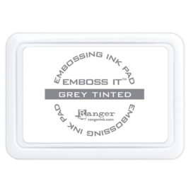 Ranger Emboss it  ink pad groot Grey