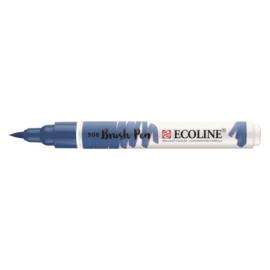 Talens Ecoline Brush Pen - 508 pruisischblauw