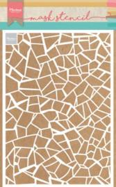 Marianne Design Mask stencils - Gebroken tegels - A5
