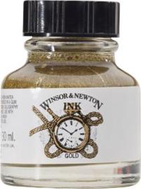 Winsor & Newton Vloeibare inkt 30 ml - Goud