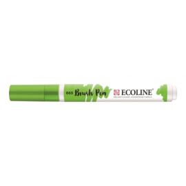 Talens Ecoline Brush Pen - 665 lentegroen
