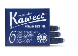 Kaweco inktpatronen - set van 6 - Royal Blue