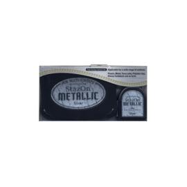 Stazon sneldrogend stempelkussen - Metallic Silver
