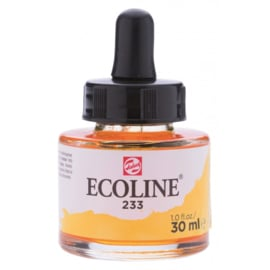 Talens Ecoline Vloeibare waterverf 30 ml - 233 chartreuse