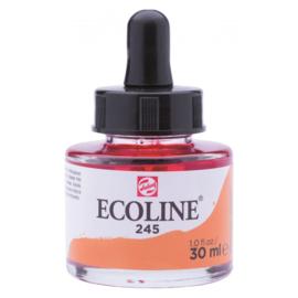 Talens Ecoline Vloeibare waterverf 30 ml - 245 saffraangeel