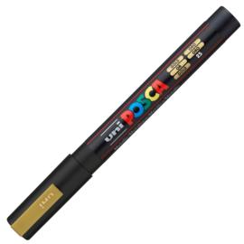 Uni Posca Paint Marker PC-3M  - Goud