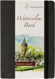 Hahnemühle Grey Watercolour Book A5 Portret - 60 pagina's - Grijze kaft - Wit papier