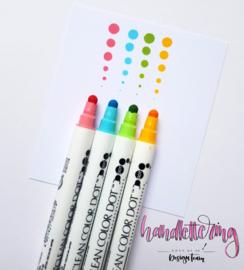 Zig Clean Color Dot stiften - set van 4