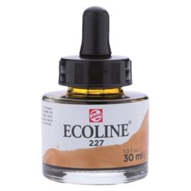 Talens Ecoline Vloeibare waterverf 30 ml - 227 gele oker