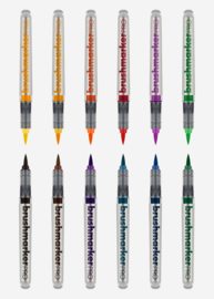 Karin Brushmarker PRO Basic colours - set van 12