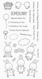 My Favorite Things clear stamps - set van 27 - BB Somebunny