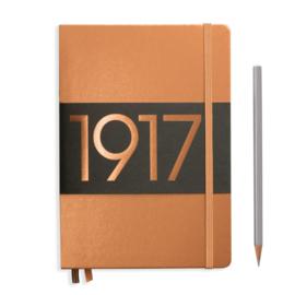 LEUCHTTURM 1917 bulletjournal / Notitieboek A5 - Dotted - Metallic Copper