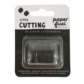 Paperfuel papiersnijder 30,5 x 11,4 cm reservemesjes - set van 2