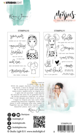 Studio Light Clear Stamp Karin Joan - Dutch Text Missees Collection nr.10
