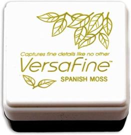 Tsukineko VersaFine inktpad 3 x 3 cm - watervaste inkt - Spanish moss