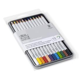 Winsor & Newton Studio Collection Kleurpotloden - set van 12