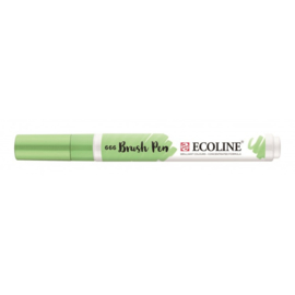 Talens Ecoline Brush Pen - 666 pastelgroen