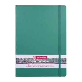 Talens art creation Brush / Schetsboek 21 x 29,7 cm - 80 vellen - Woudgroen