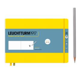 LEUCHTTURM 1917 Sketchbook Medium Landscape A5 - 150 grams - Yellow