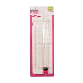 Vaessen Creative - Papiersnijder met rilfunctie 7,6 x 31 cm
