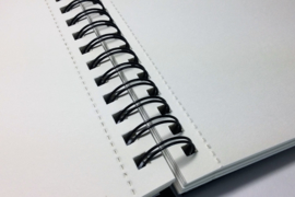 Talens art creation Brush / Schetsboek 21,5 x 28 cm - 80 vellen - Zwart - Spiraal