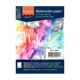 Florence Aquarelpapier smooth 200 grams