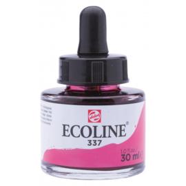 Talens Ecoline Vloeibare waterverf 30 ml - 337 magenta