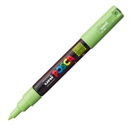 Uni Posca Paint Marker PC-1MC conische punt  - Appelgroen