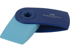 Faber Castell gum Sleeve - Blauw