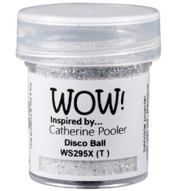 WOW embossing Glitter - Disco Ball WS295R