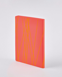 Nuuna bulletjournal / Notitieboek A5 - 176 pagina's - Dotted - Colour Clash L Light Mori