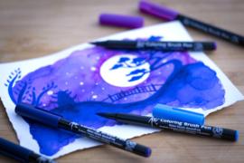 Sakura Koi coloring brush pen Galaxy - set van 6