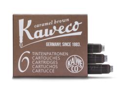 Kaweco inktpatronen - set van 6 - Caramel Brown