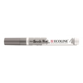 Talens Ecoline Brush Pen - 704 grijs