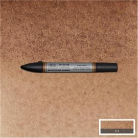Winsor & Newton Aqua brushpen - BURNT UMBER