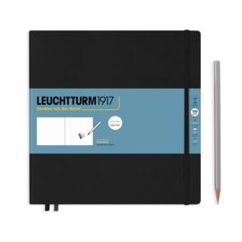 LEUCHTTURM 1917 Sketchbook Square 22,5 x 22,5 cm - 150 grams - Black