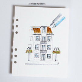 MyArtBook papier A5 - 10 vellen - 300 grams - Gebroken wit papier