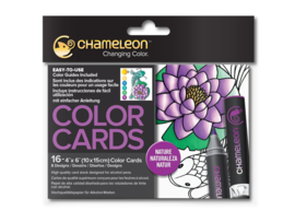 Chameleon Color Cards - Nature 10 x 15 cm - set van 16