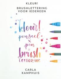Kleur! Brushlettering voor iedereen - Carla Kamphuis